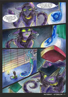 Waterway Afterglow pg. 7. by TiamatART