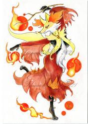 Pokemon: Delphox dancing