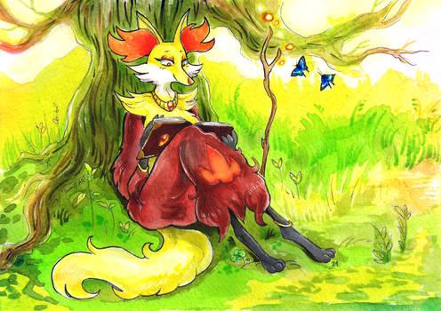 Pokemon: Maple the delphox