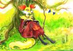 Pokemon: Maple the delphox by TiamatART