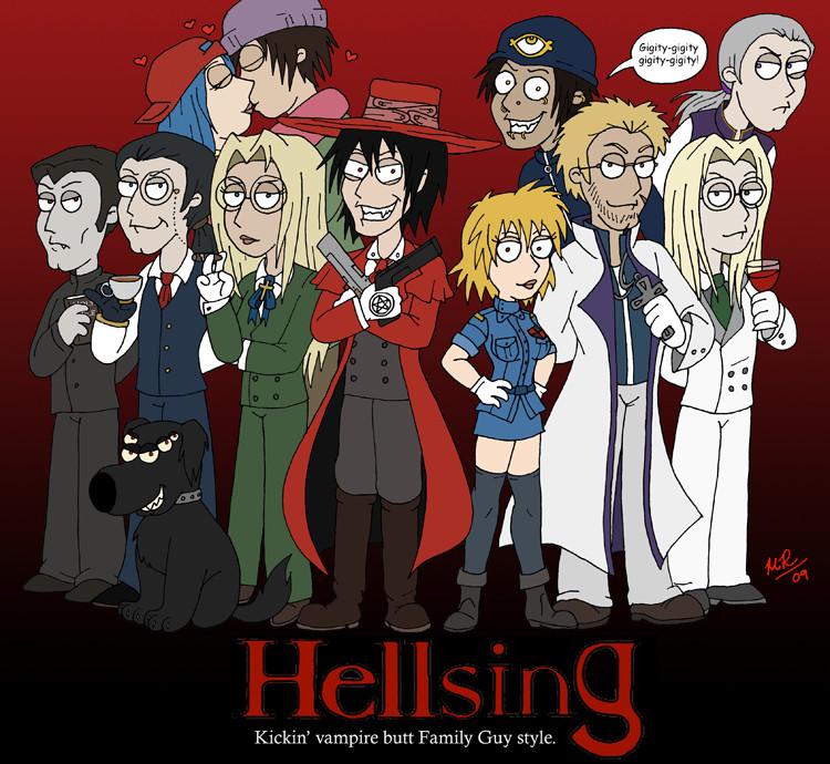 Family Guys' Hellsing by littleFernanda