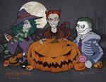 Halloween Mischeif with Lock, Shock, and Barrel