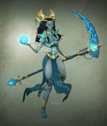 Commission: Necron Overlady