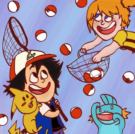 Pokeballs by BedAndBreakfast