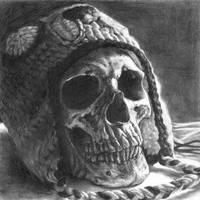 skull rendering by vi0lentvicky