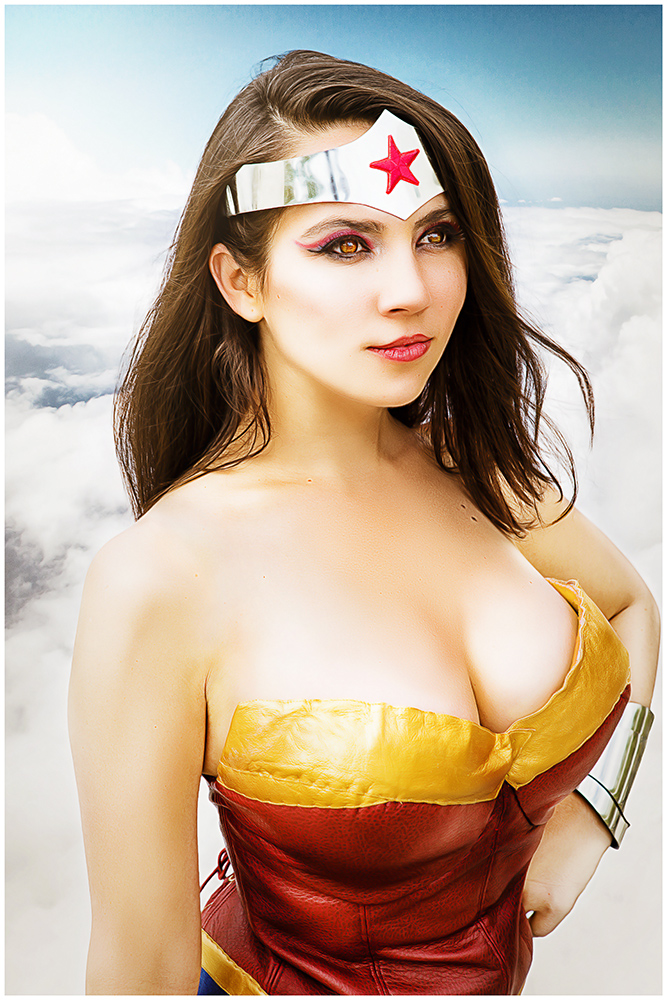 Trisha Hershberger as Wonder Woman by kayhettin