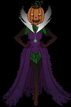 Pumpkin Queen by MarjoleinB