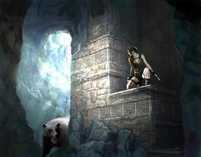 TRU Underworld by Priscillia by tombraiderfanart