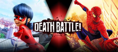 Ladybug vs Spider-Man by BLA5T3R