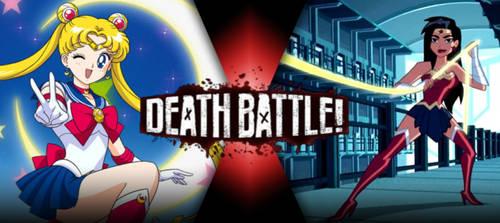 Sailor Moon vs Wonder Woman by BLA5T3R