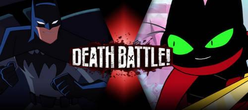 Batman vs Mao Mao by BLA5T3R