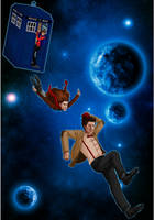 TARDIS Jump by Sabrea