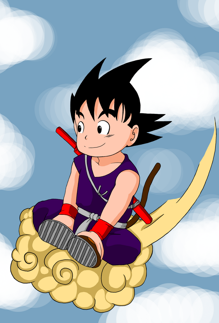 Flying Goku by crandrew1242