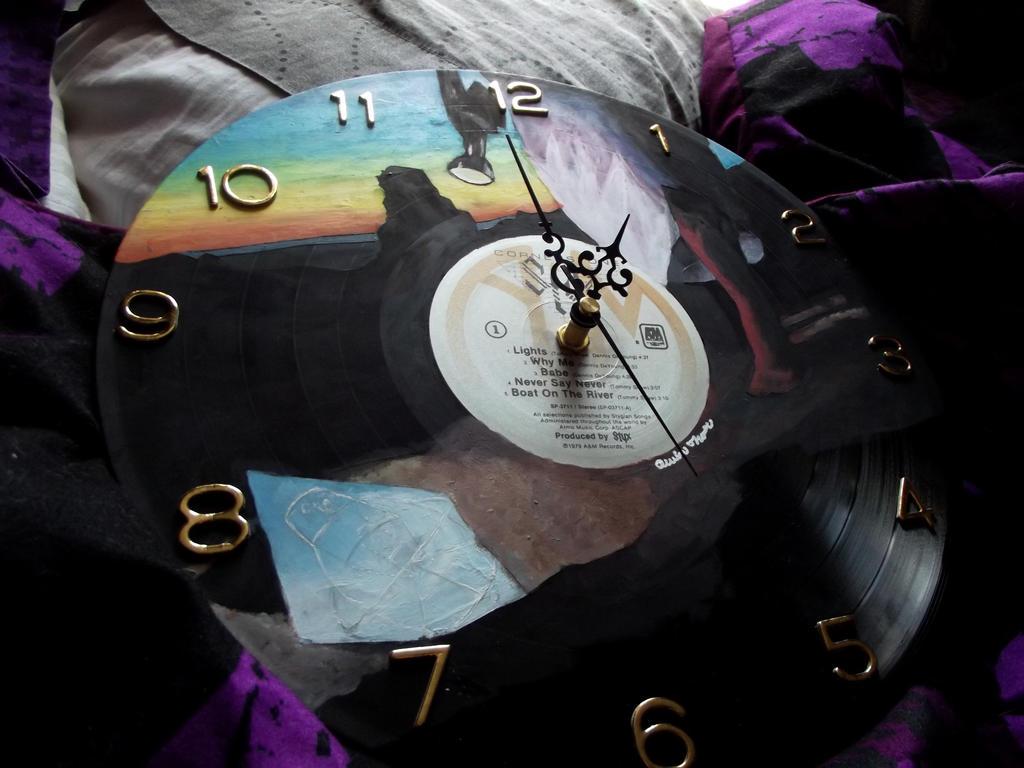 com styx cornerstone vinyl record clock by xxmidybluexx on deviantart