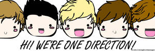 Hi! We're One Direction! by angelelogs