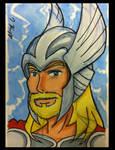 Sketch Card: Thor