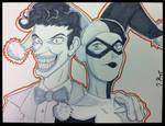 Commission: Joker and Harley