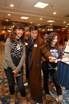 Tenth Doctor Cosplay: Pandoracon