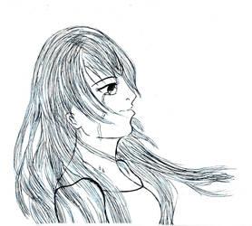 Zeichnung 21 - Wind that hides tears by Luna-Lotus