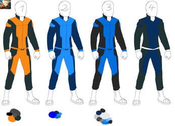 EDA Uniform Colour Studies by Harriston