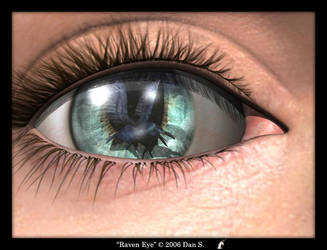Raven Eye by graphicfreak