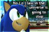 No ( c ) law Sonic - Stamp by zavraan