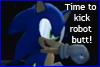 Kick robot butt Sonic - stamp by zavraan