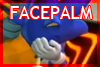 Facepalm Sonic - Stamp by zavraan