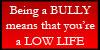 Bully Stamp by zavraan