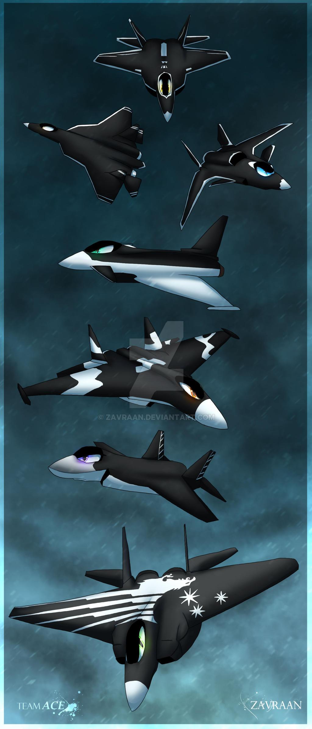 Winged Heroes by zavraan