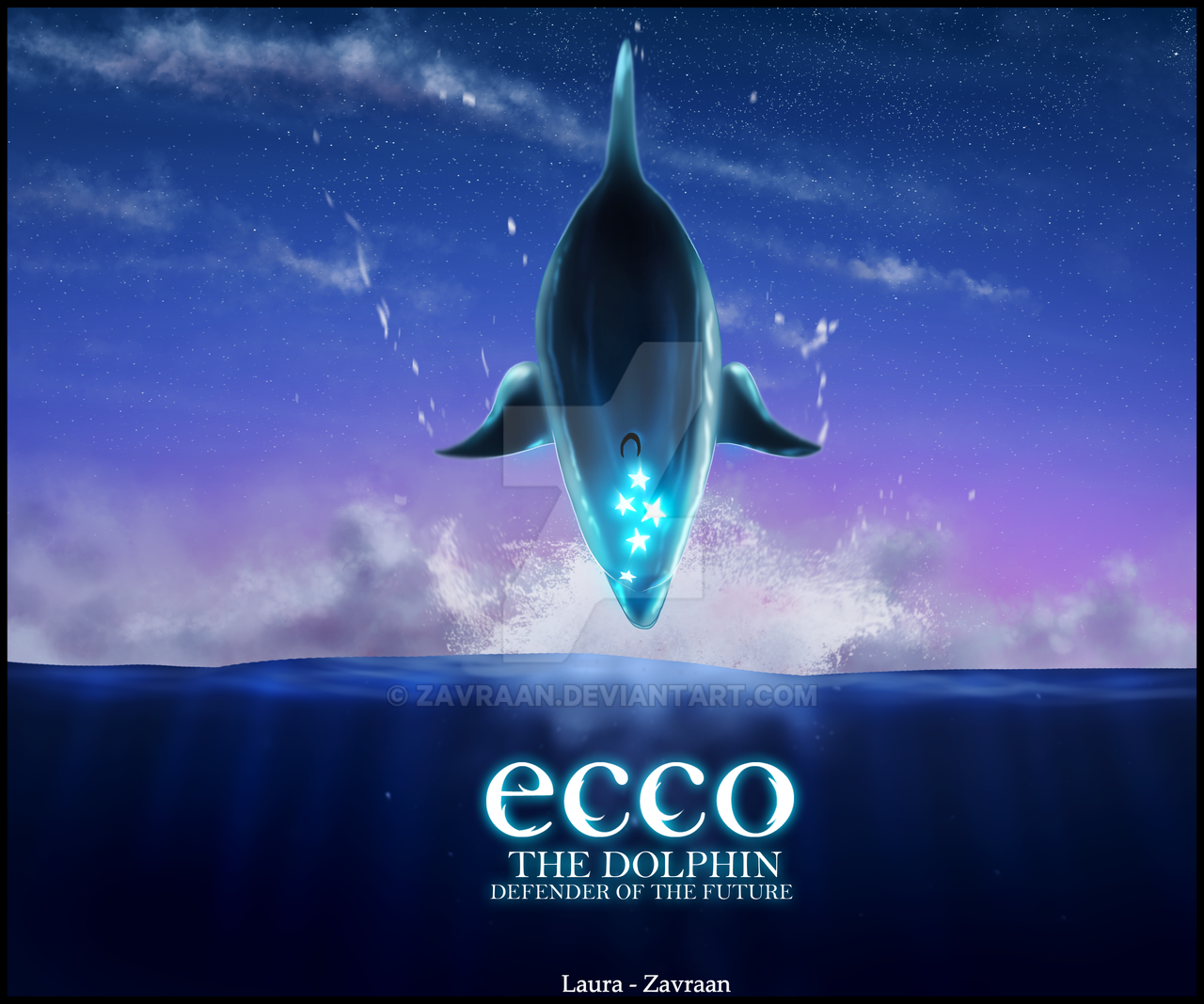 ecco the dolphin fanmade cover by zavraan on deviantart. Black Bedroom Furniture Sets. Home Design Ideas