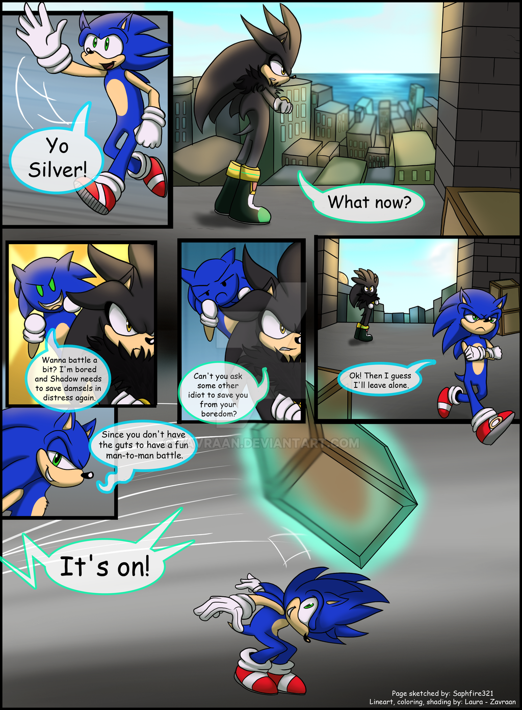 Rival Battle Page 1 Collab By Zavraan On Deviantart