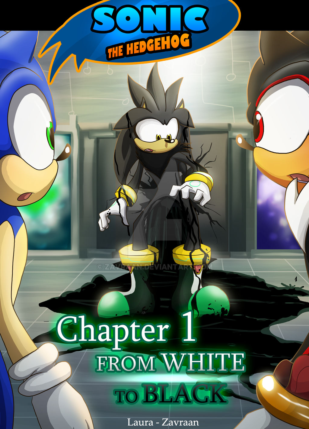 From White To Black Chapter 1 By Zavraan On Deviantart
