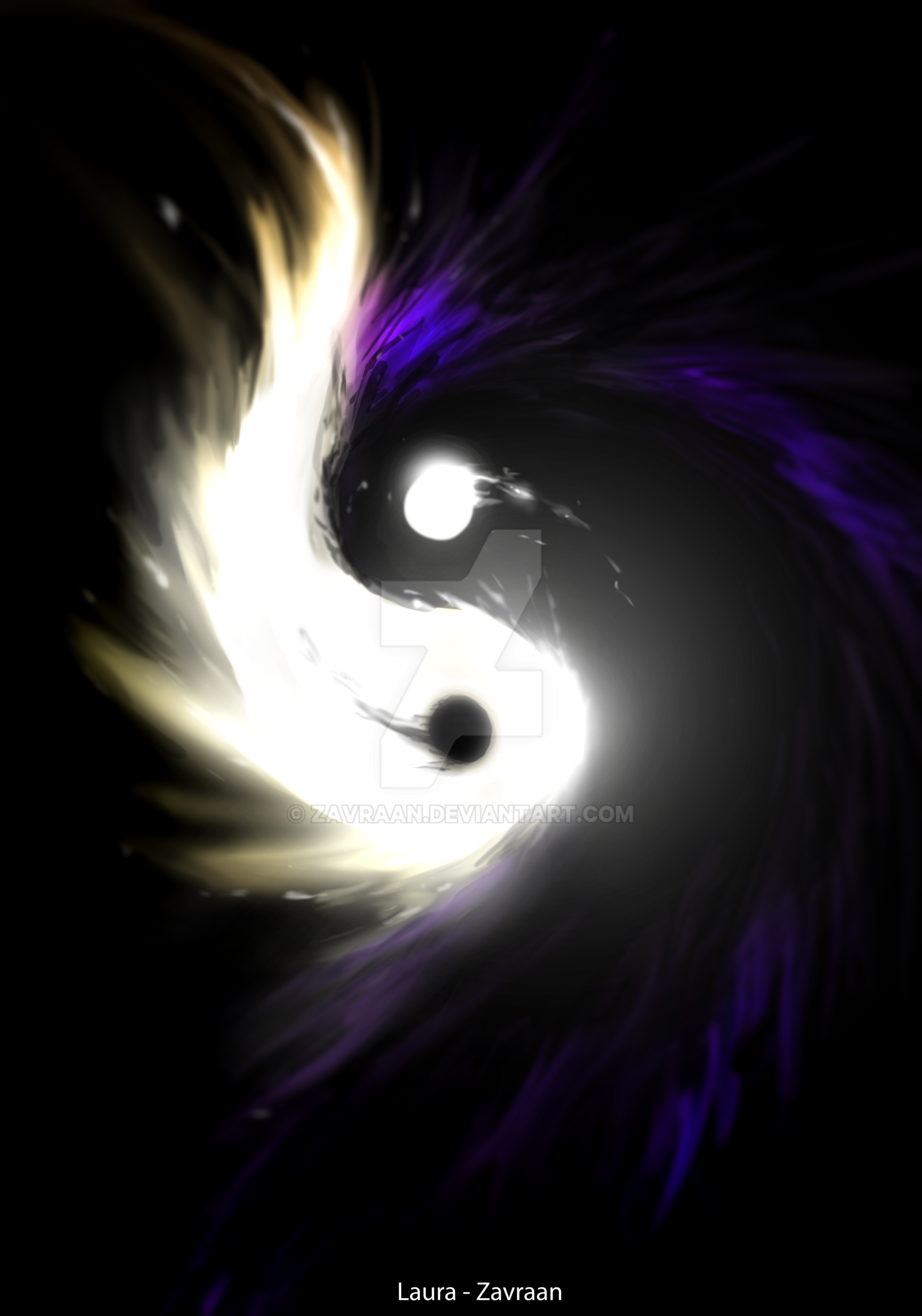 Yin Yang by zavraan