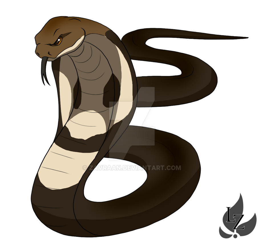 King cobra by zavraan on DeviantArt
