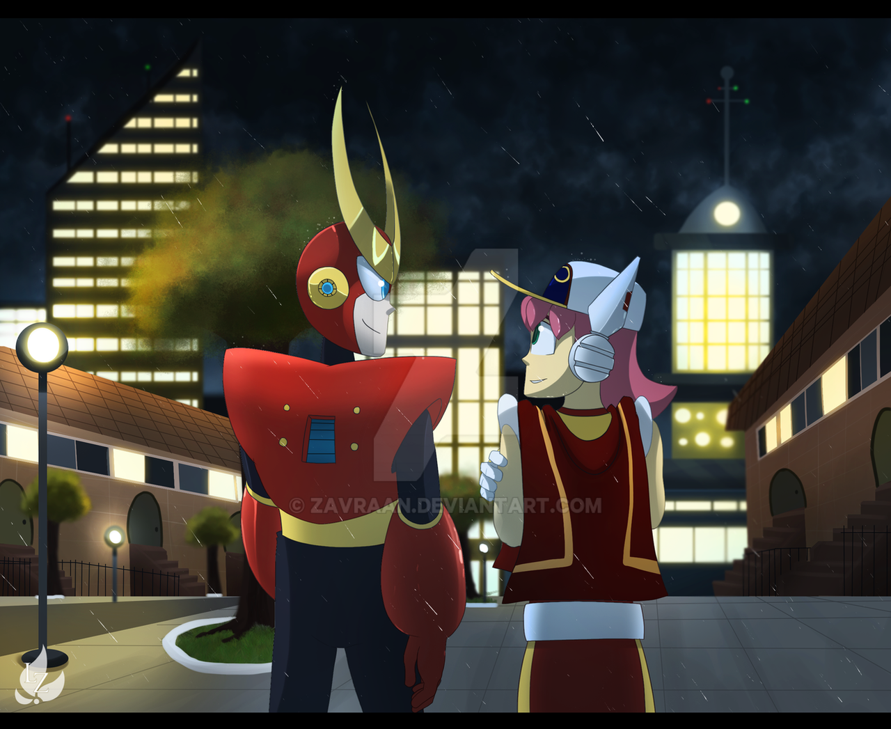 The Hero And The Reporter By Zavraan On Deviantart