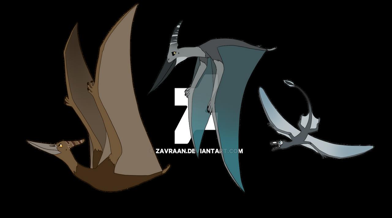 Pterodactyl Pteranodon and Pterosaur - Design by zavraan on DeviantArt fdf2f321a
