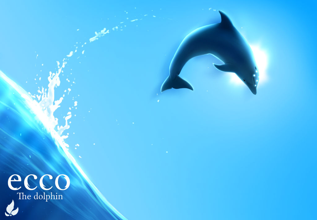 Ecco The Dolphin Poster By Zavraan On DeviantArt