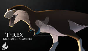 T-rex from Naturalis - improved