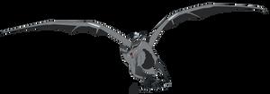 Metal dragon - pose 1