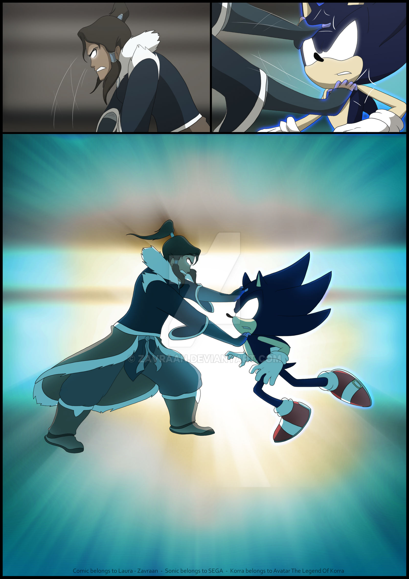 Page/125 >> Sonic And Korra Page 125 By Zavraan On Deviantart