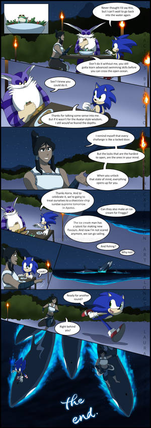 Sonic and Korra Swimming lessons Page 17