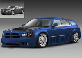 Dodge Magnum RT by baggedtoy93