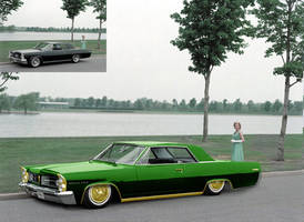 63 grand prix lowrider by baggedtoy93
