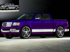 Lincoln mark LT by baggedtoy93
