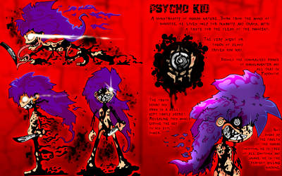 Psycho Kid: Cha. Sheet by willgreg123