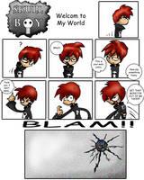 Skull-Boy: Welcome to my World by willgreg123