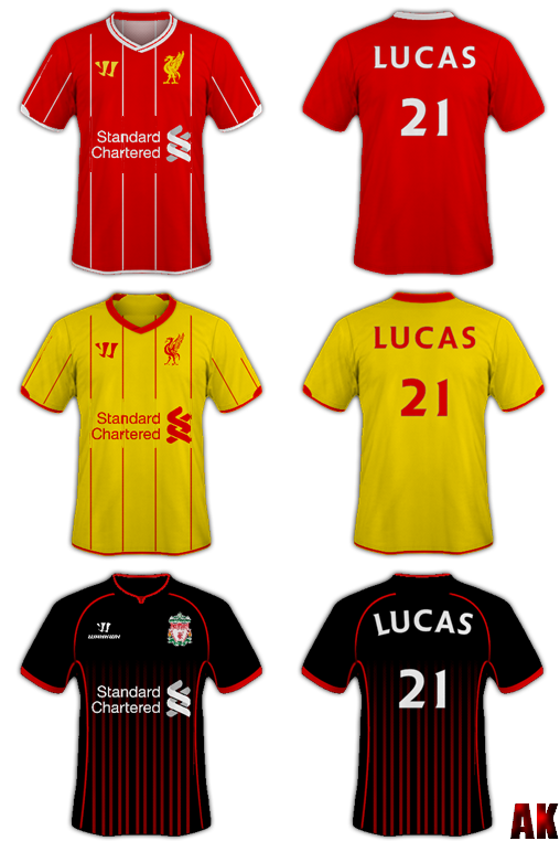 2012 Liverpool FC Retro Shirts by LiverpoolFC8 on DeviantArt