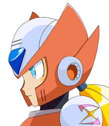 Mega Man Zero by oroDiabolus