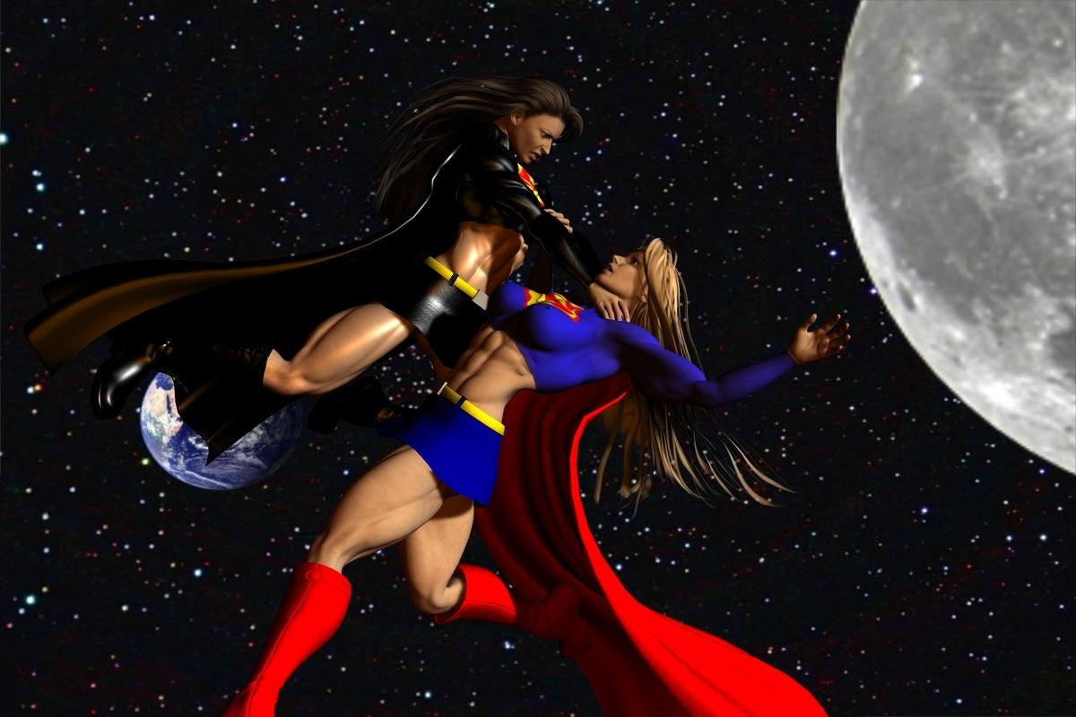 dark supergirl wallpaper - photo #11